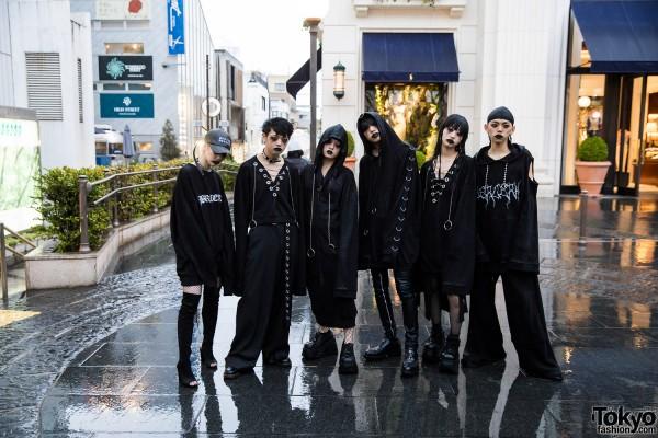 BERCERK Japan Fashion Show Dirty City (29)