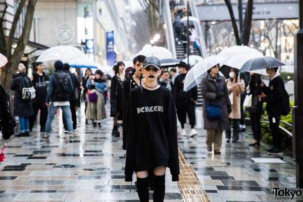 BERCERK Japan Fashion Show Dirty City (30)
