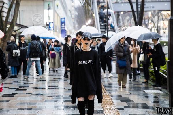BERCERK Japan Fashion Show Dirty City (30)