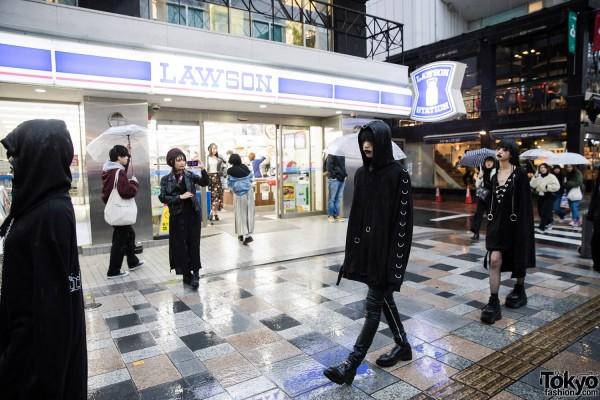 BERCERK Japan Fashion Show Dirty City (31)