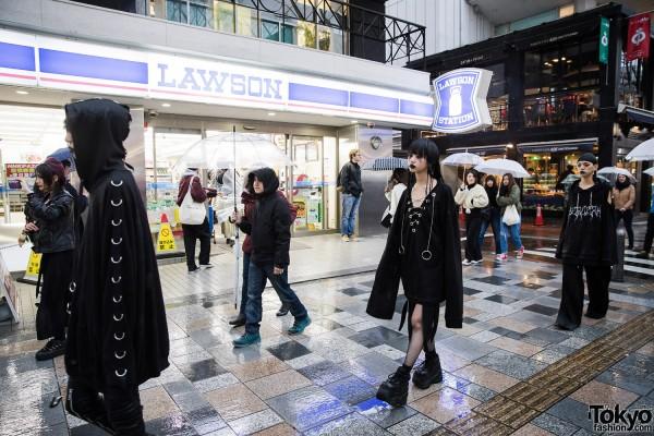 BERCERK Japan Fashion Show Dirty City (32)