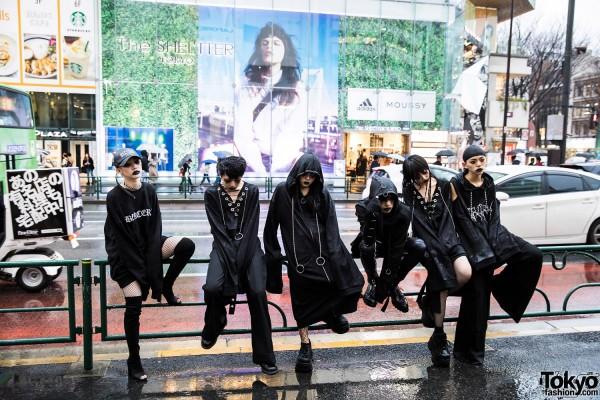 BERCERK Japan Fashion Show Dirty City (33)