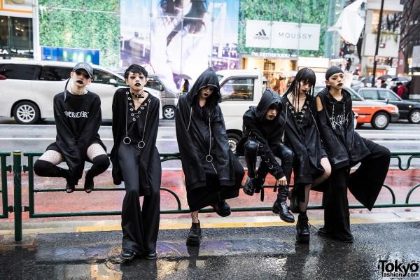 BERCERK Japan Fashion Show Dirty City (34)
