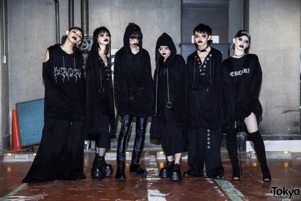 BERCERK Japan Fashion Show Dirty City (36)