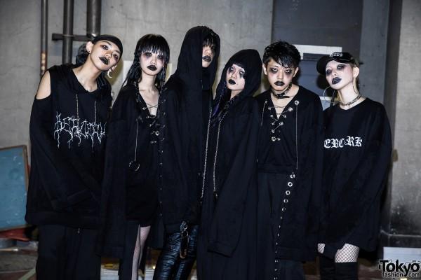 BERCERK Japan Fashion Show Dirty City (37)