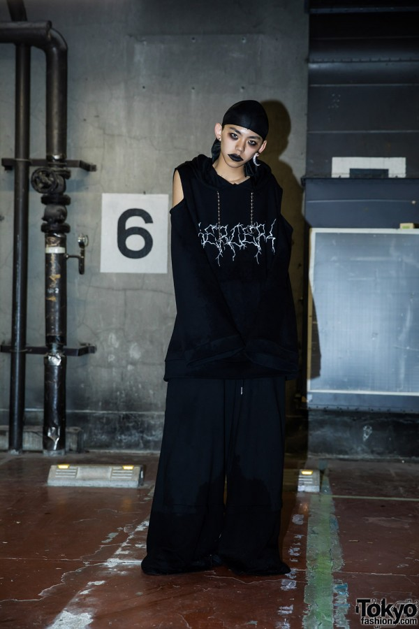 BERCERK Japan Fashion Show Dirty City (43)