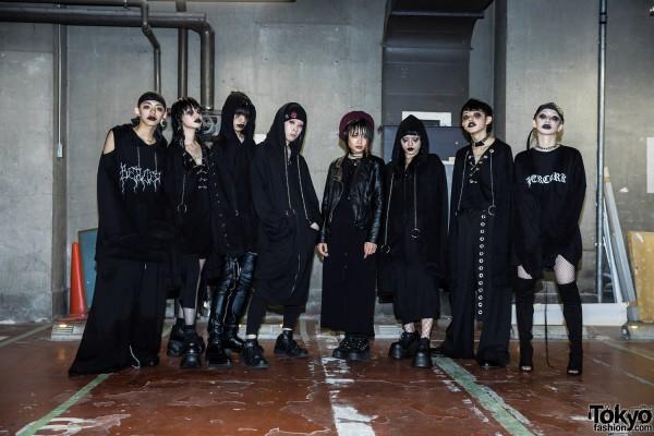 BERCERK Japan Fashion Show Dirty City (44)