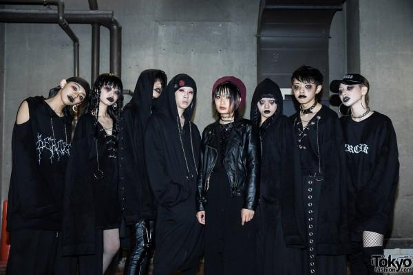BERCERK Japan Fashion Show Dirty City (45)