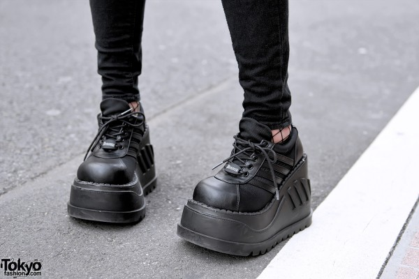 Demonia Platform Shoes x Rasvoa Jeans