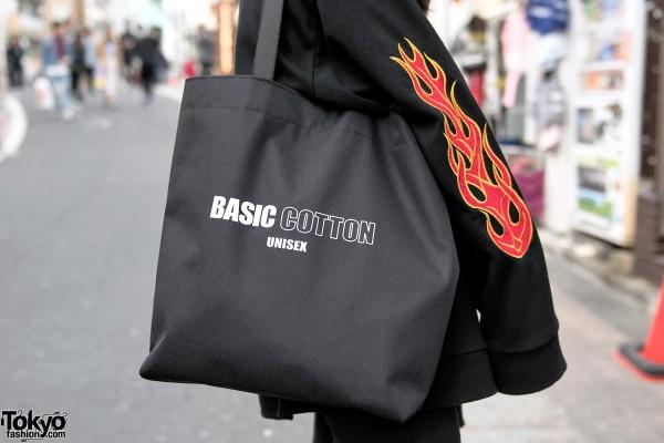 Basic Cotton Tote Bag in Tokyo
