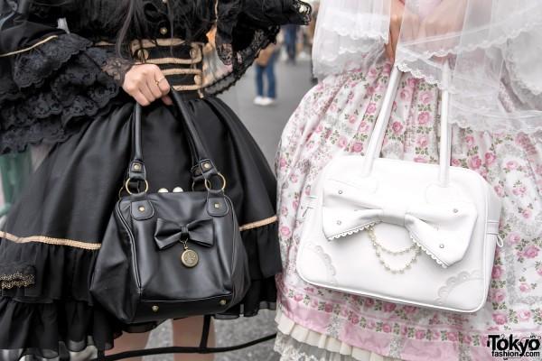 Swimmer Japan & Angelic Pretty Heart Handbag