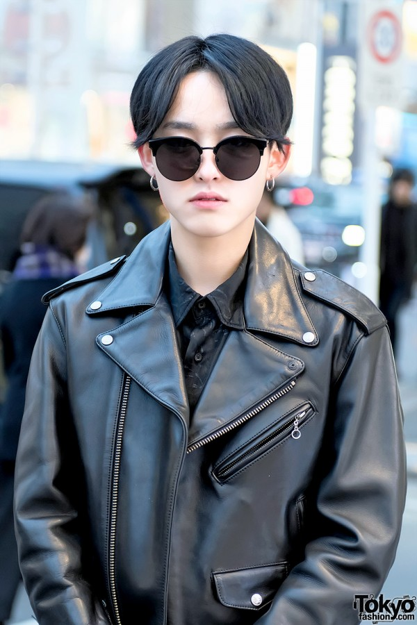 Kushitani Biker Jacket & Gentle Monster Sunglasses