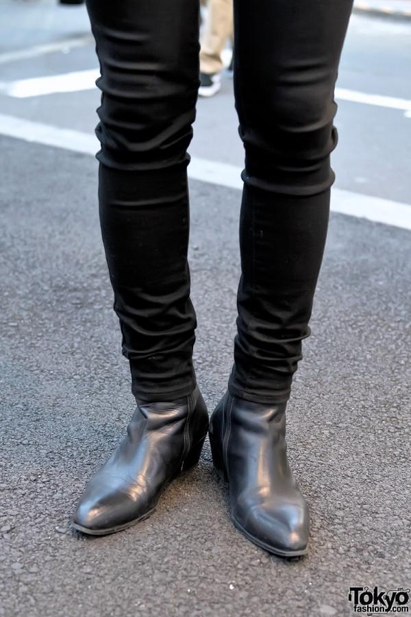UNIQLO Skinny Jeans & WARP Tokyo Shoes