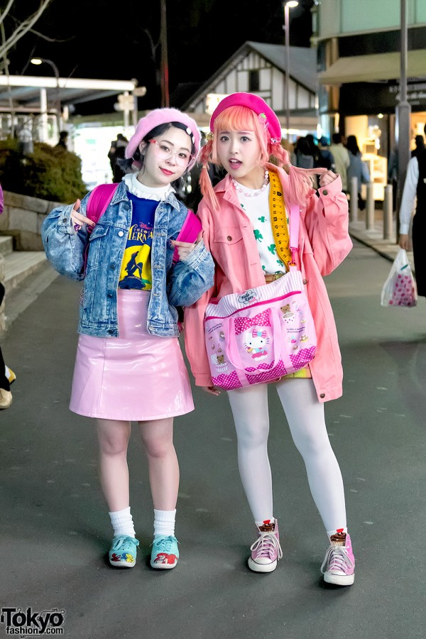 Kawaii Pink Harajuku Street Styles