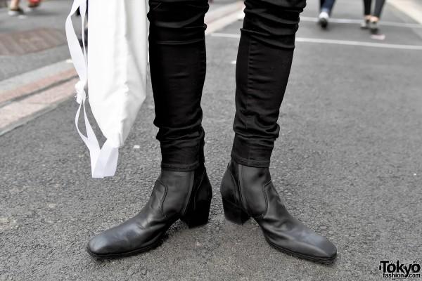 Yosuke Leather Boots