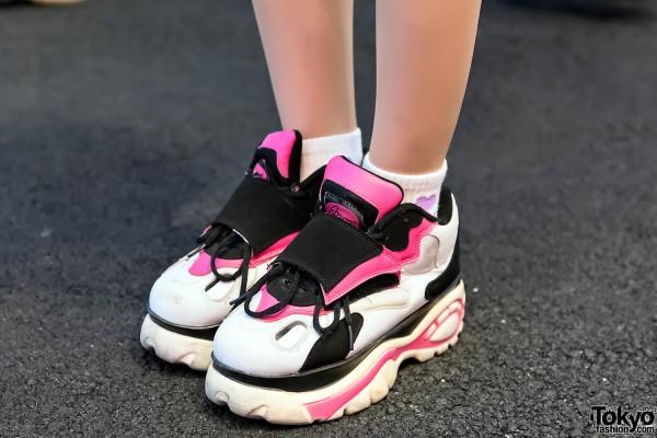 Bubbles Tokyo Platform Sneakers