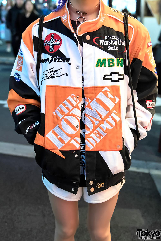 Harajuku Street Style W Home Depot Jacket Killstar Glad News