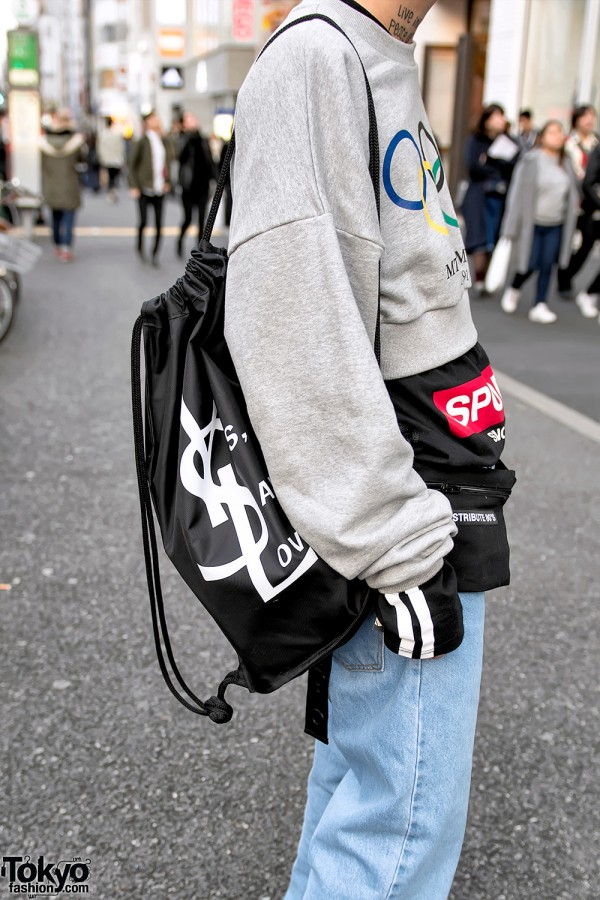 More Than Dope YSL Bag