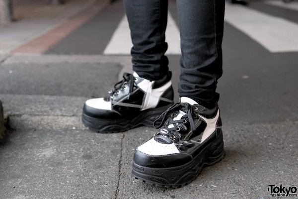 Yosuke Platforms x UNIQLO Skinny Jeans