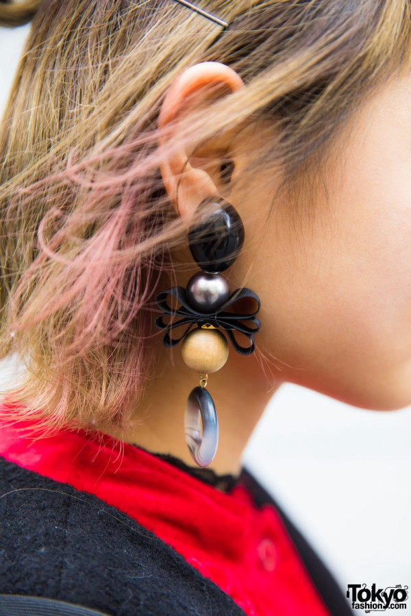 an/eddy×nakamura coubou Statement Earrings