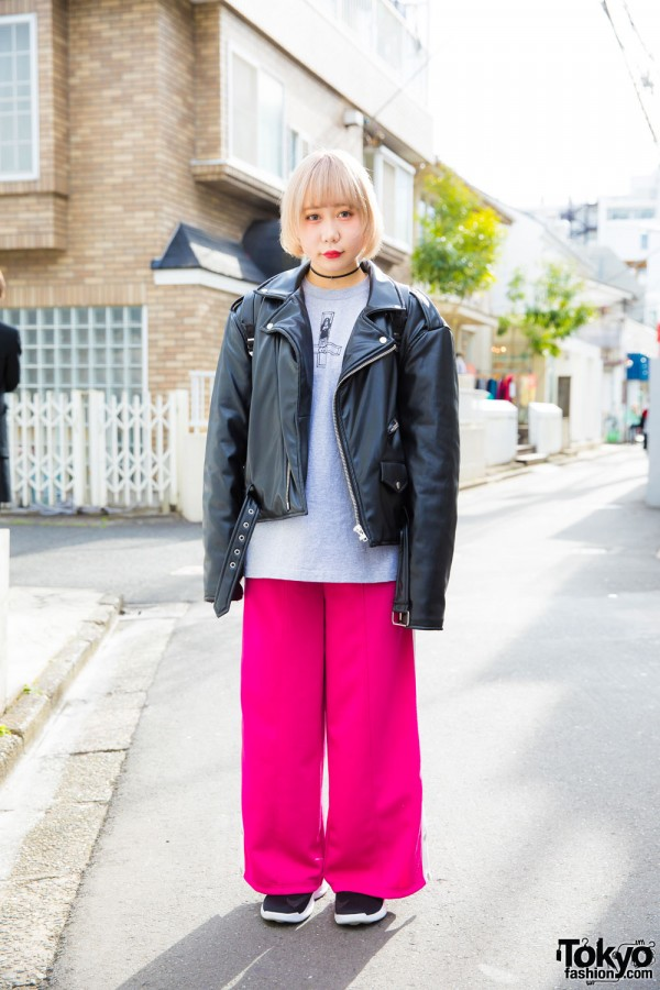 Rock Chic Style in Harajuku
