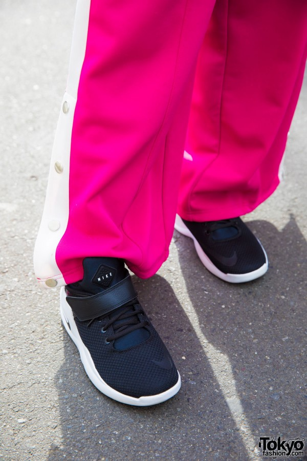 Faith Tokyo Wide Leg Pants & Nike Kicks