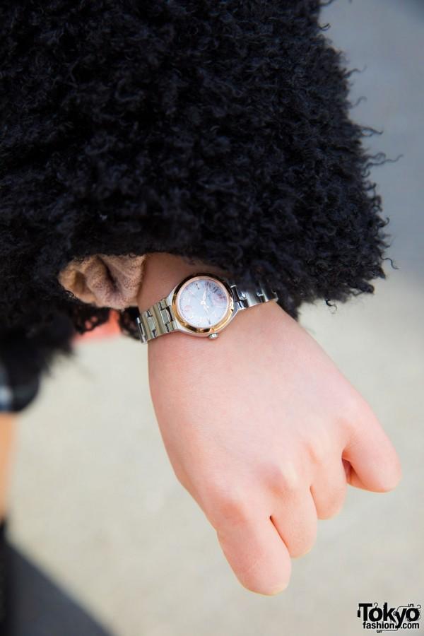Wicca Silver Watch