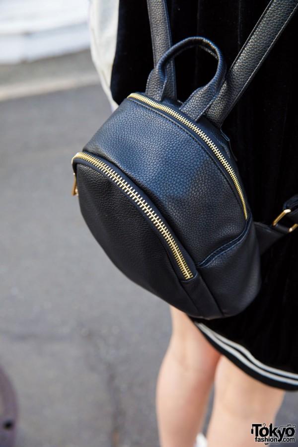 One Spo Mini Backpack in Black
