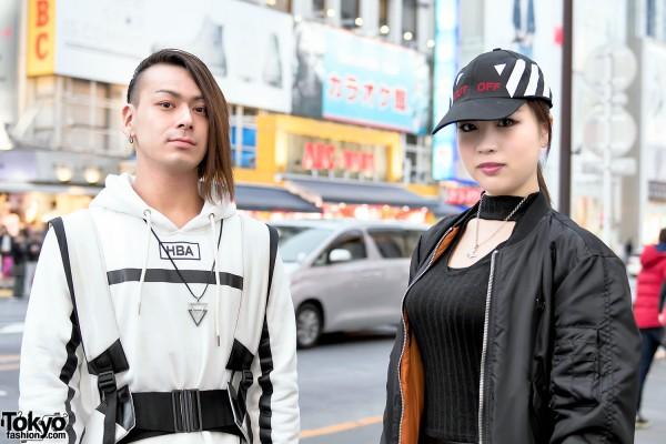 Hood by Air vs Long Clothing in Tokyo