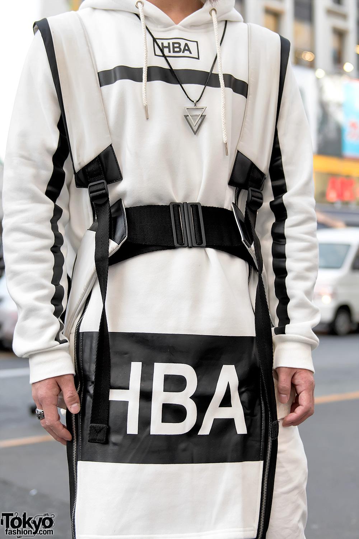 Harajuku Duo In Streetwear By Hood By Air Y 3 Long
