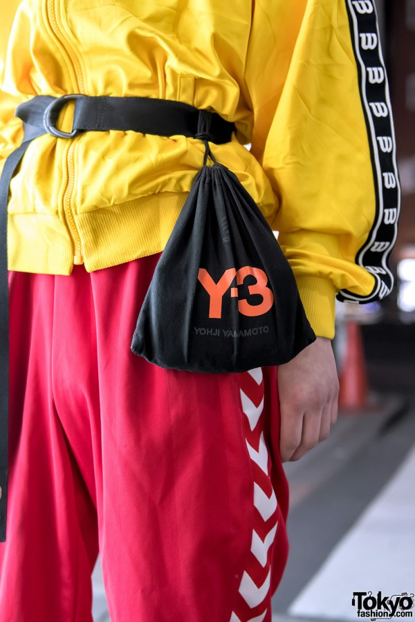 Y-3 Pouch Bag
