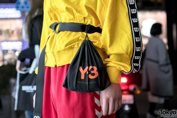 Yohji Yamamoto Y-3 Belt & Bag