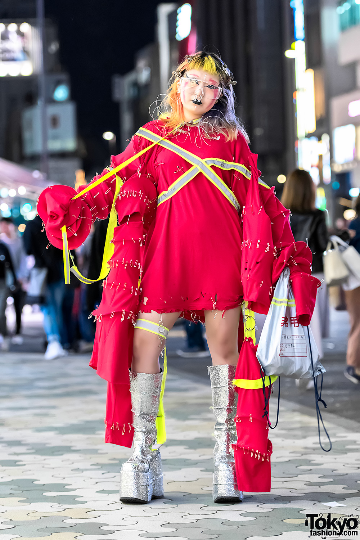 Avant-garde Handmade Harajuku Street Fashion & Glitter