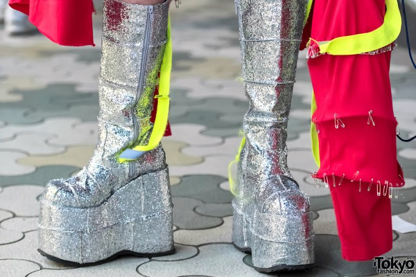 Demonia Glitter Boots