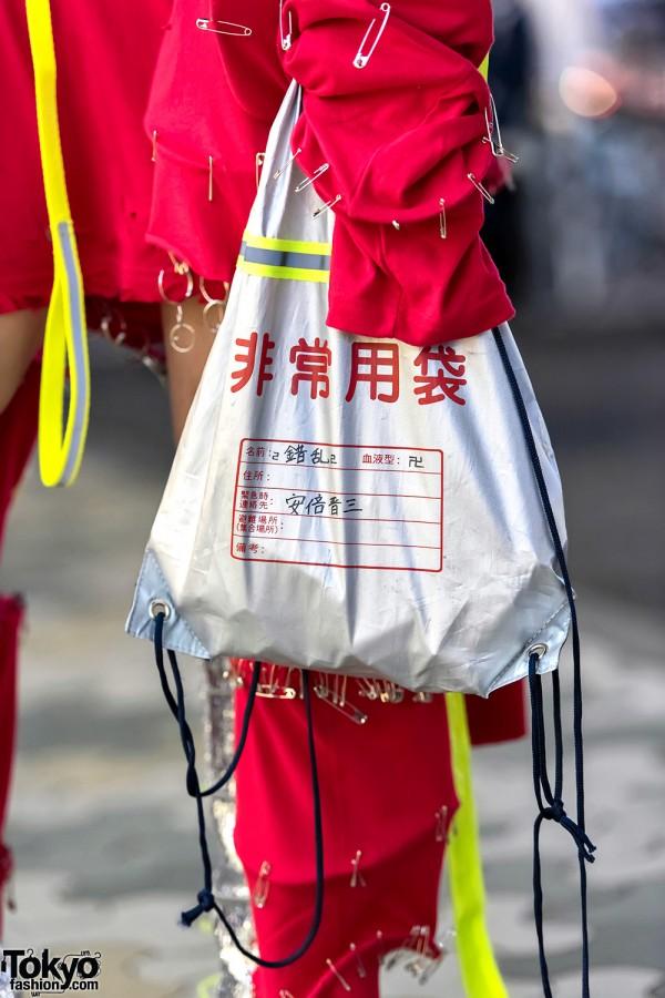 Silver Handmade Purse Bag