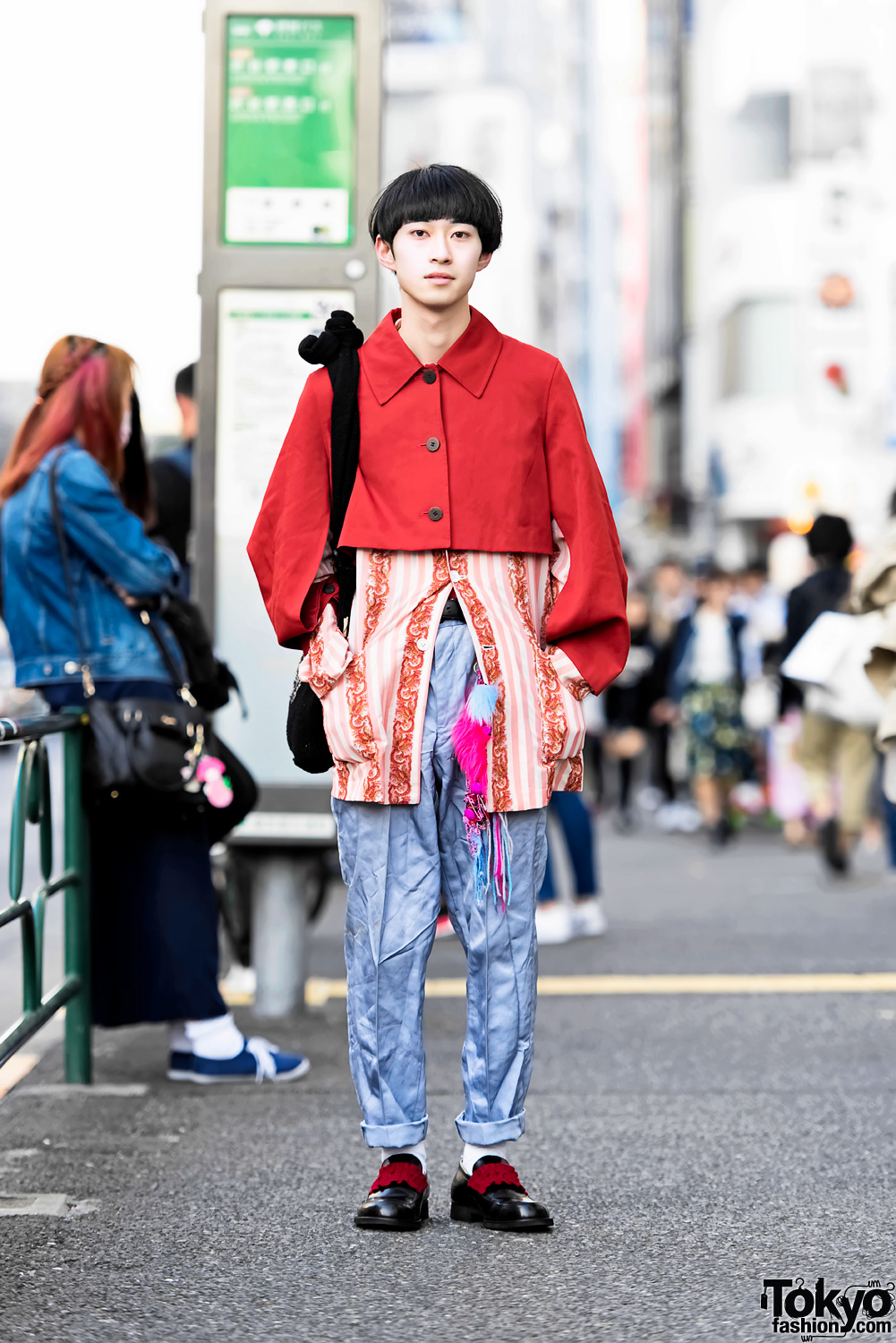 c170ce568f8 Harajuku Guy in Comme Des Garcons Homme Plus