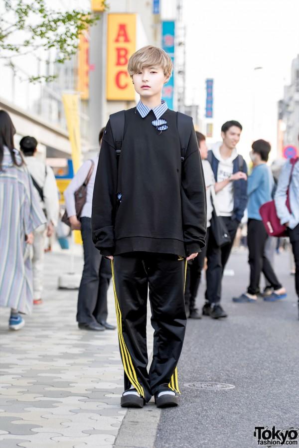 Harajuku Street Style W Faith Tokyo Ripped Sweatshirt Chance Chance Tokyo Bopper