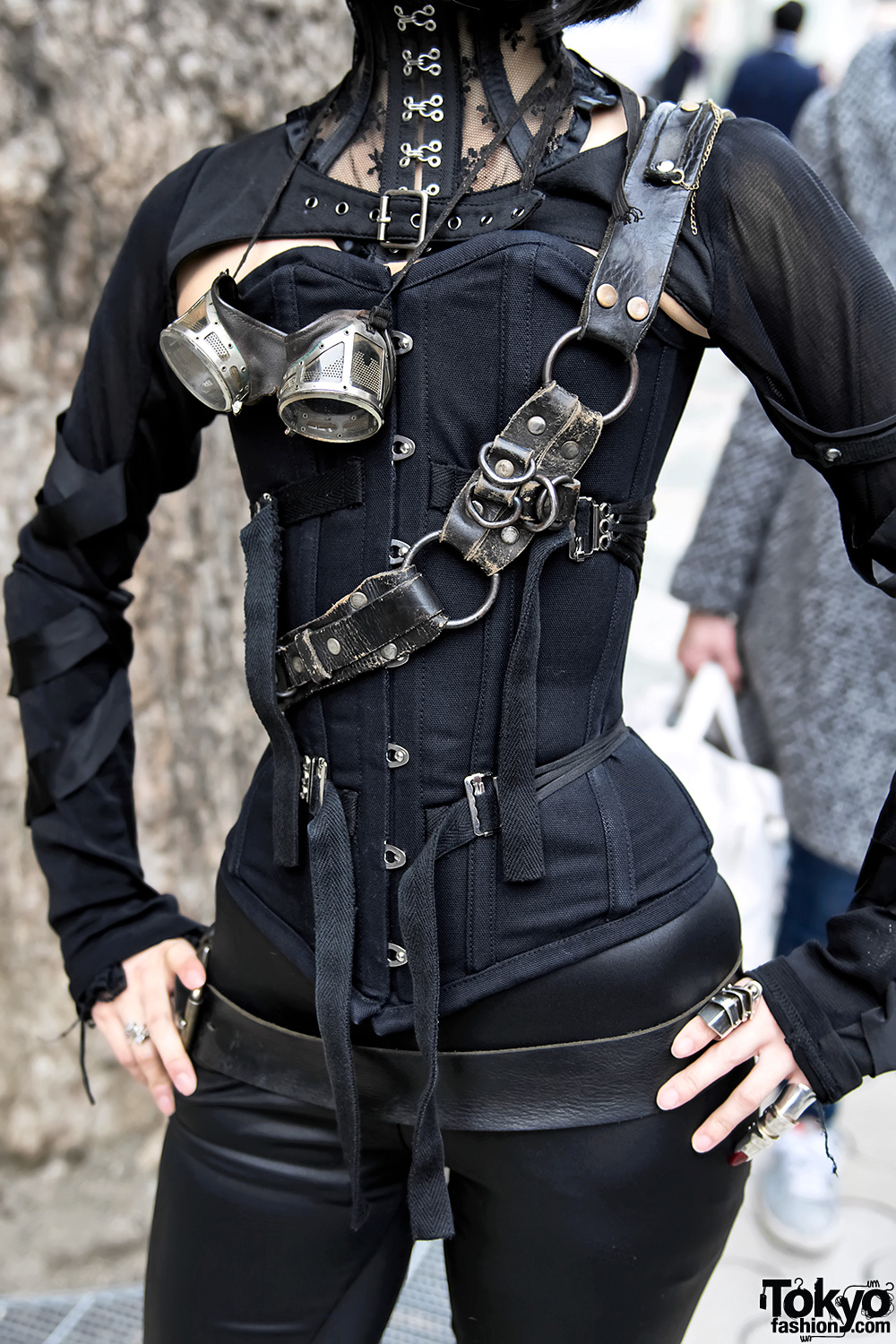Japanese Steampunk Street Style W Ozz On Amp Pure One