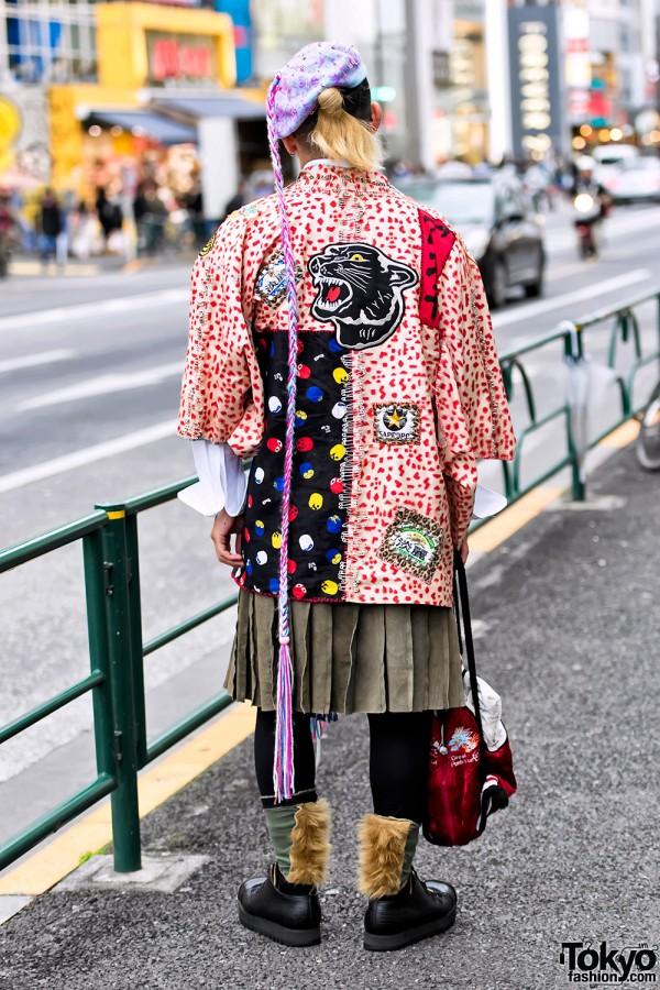 Anti Japanese Fashion Brand Coat in Harajuku