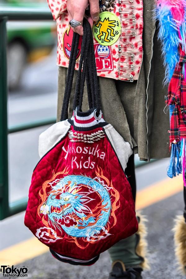 Sukajan Bag in Harajuku