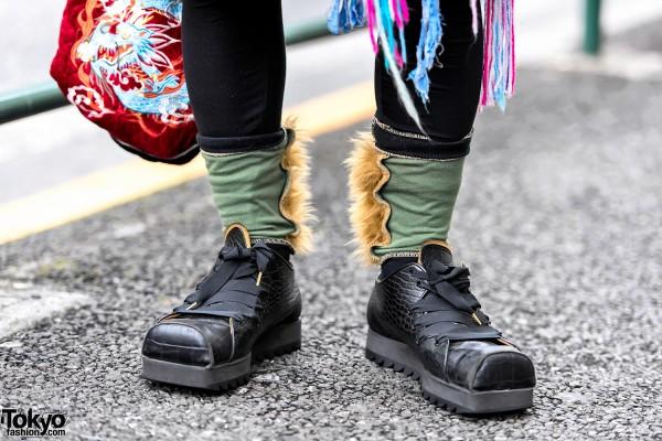 Christopher Nemeth Socks & Kids Love Gaite x John Moore Shoes