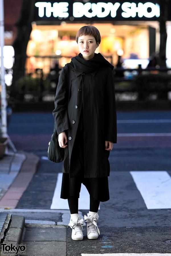 Minimalist Harajuku Street Style W Issey Miyake Me Comme Des Garcons Yohji Yamamoto Cinzia