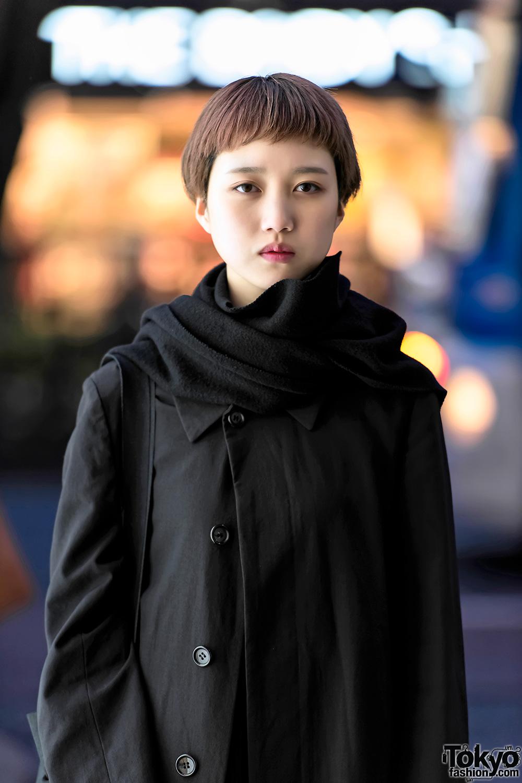 Minimalist Harajuku Street Style W Issey Miyake Me Comme