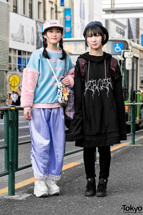 Harajuku Girls in Little Sunny Bite, BERCERK, Neon Moon & Never Mind the XU