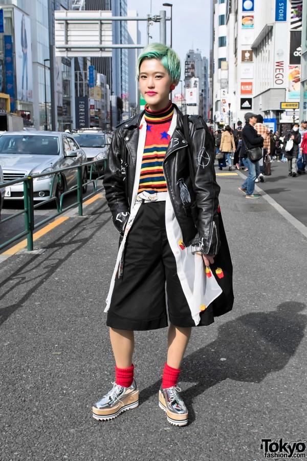 Mikio Sakabe x Jeffrey Campbell Japanese Fashion
