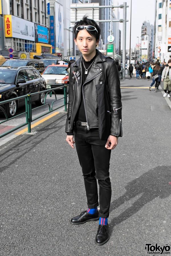 Punk Harajuku Style w/ Saint Laurent Skinny Jeans