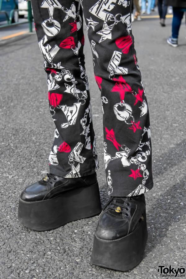 Moschino x Buffalo Platform Boots