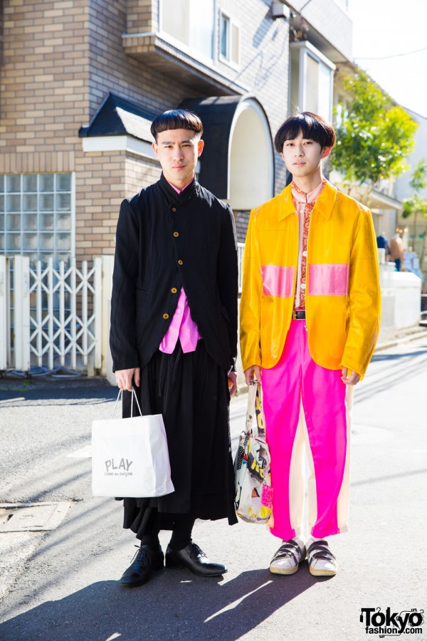 Harajuku Guys in Comme Des Garcons Street Styles