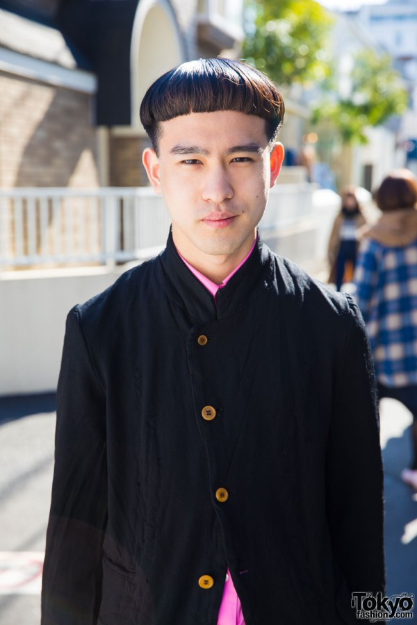 Comme des Garcons Chinese Collar Jacket