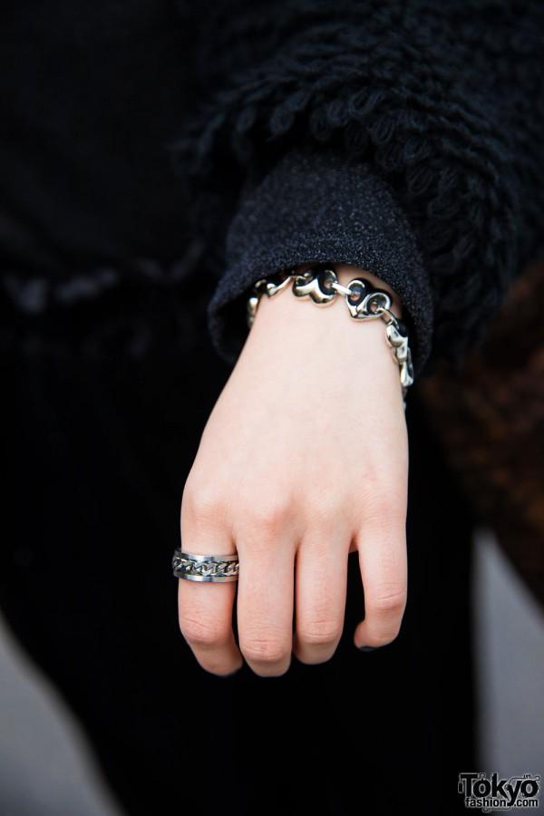 Bubbles Harajuku Ring & Bracelet